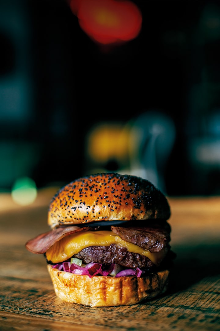 The Fitzgerald Burger