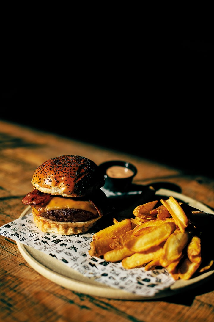 Classic Dry Aged Burger