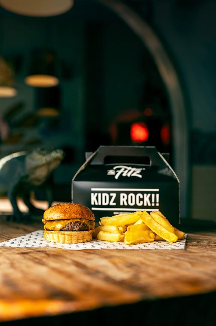 Kidz Burger Meal