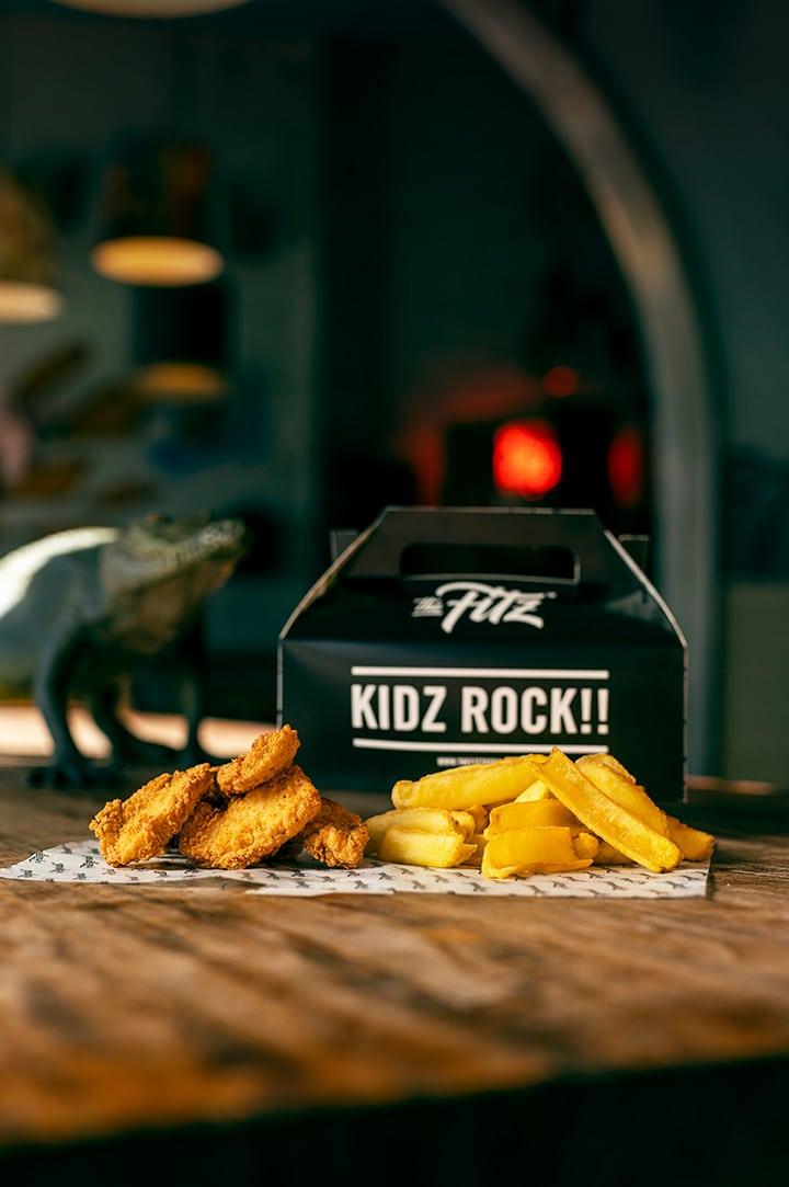 Kidz Chicken Nuggets meal