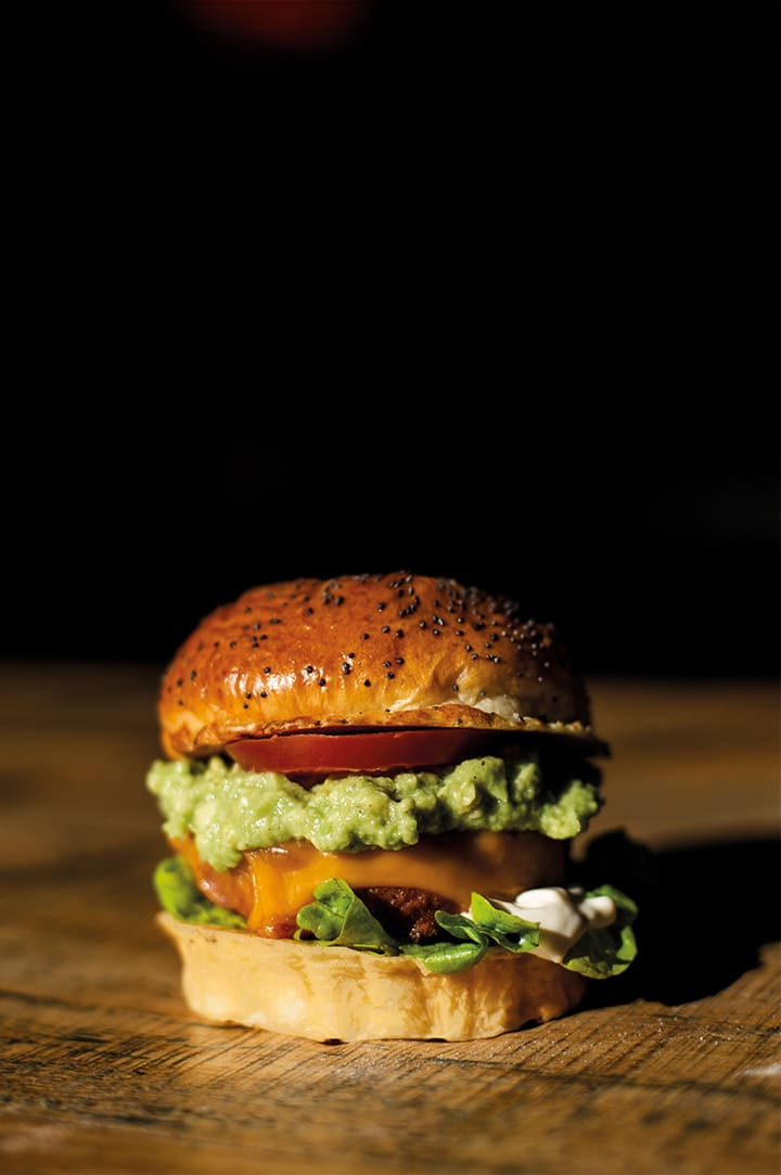 Veggie Burger - Guacamole Burger