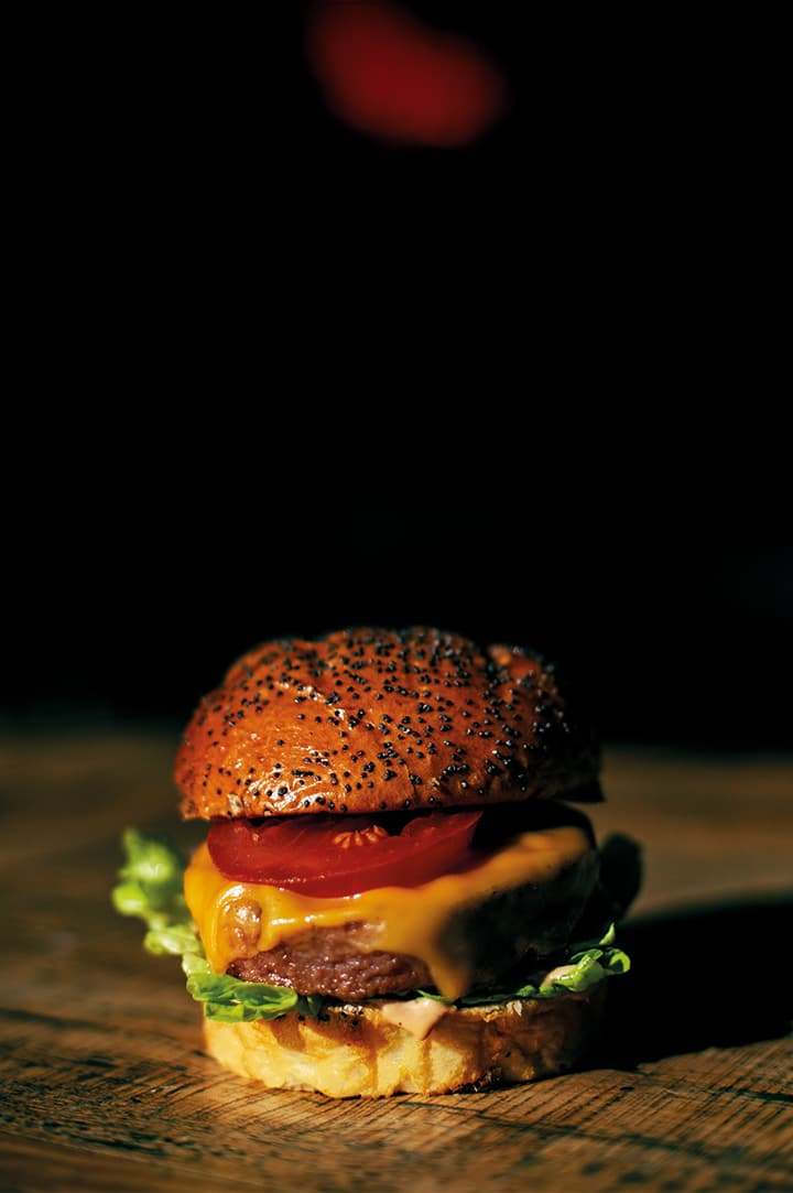 Veggie Burger - Rockyto Burger